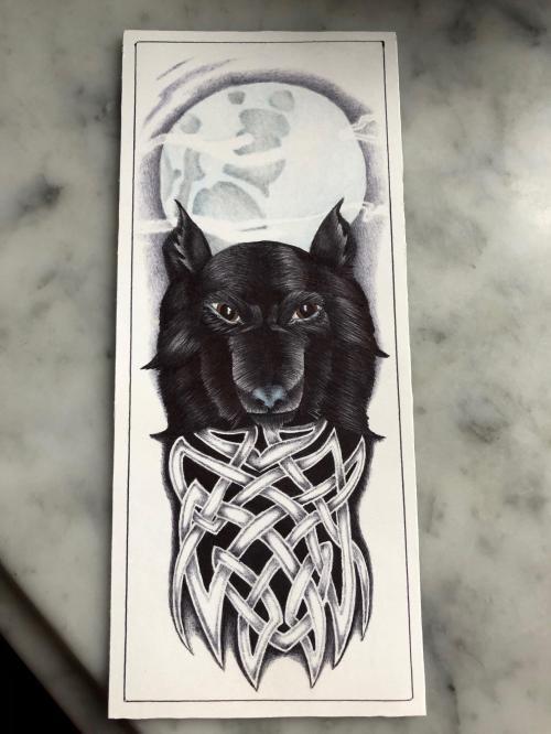 prison art-wolf
